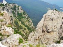 Landskap Krim Ukraina arkivbilder