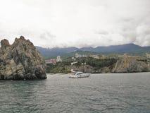 Landskap Krim Ukraina fotografering för bildbyråer