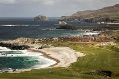 Landskap Malin huvud Inishowen Ståndsmässiga Donegal ireland royaltyfri fotografi
