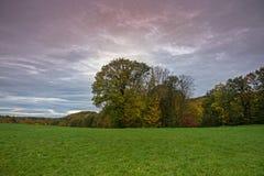 Landskap med Autumn Colors Fotografering för Bildbyråer