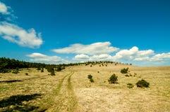 Landskap med horisonten arkivbild