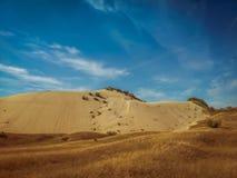 Landskap med molnhimmel Fotografering för Bildbyråer