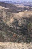 Landskap mellan Asmara och Keren, centrala Eritrea royaltyfria bilder