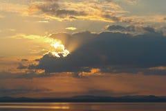 Landskap-moln Royaltyfria Bilder
