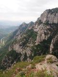 Landskap Montserrat Royaltyfri Foto