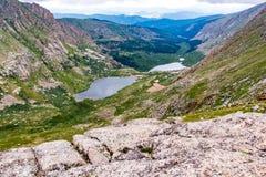 Landskap mt evans colorado för stenigt berg arkivfoto