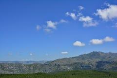 Landskap nära Dubrovnik Arkivbild