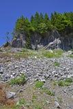 Landskap nära Paularo Arkivbilder