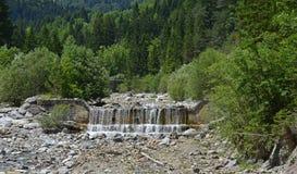 Landskap nära Pontebba Royaltyfri Foto