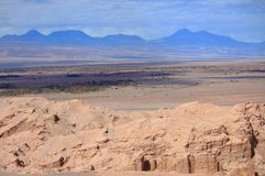 Landskap nära San Pedro de Atacama (Chile) Arkivfoton
