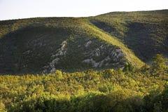 Landskap nära Studenci stämma överens områdesområden som Bosnien gemet färgade greyed herzegovina inkluderar viktigt, planera ut  Royaltyfria Foton