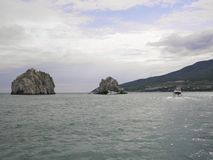 Landskap naturhavet arkivfoto
