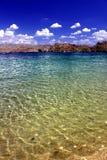Landskap Nevada för sjöMohavestrand Arkivbilder