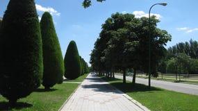Landskap och stads- fotografi Royaltyfria Bilder