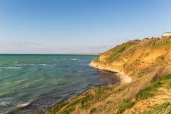 Landskap på Blacket Sea Arkivfoton
