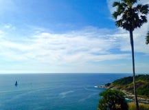 Landskap på det Phuket landskapet Royaltyfria Bilder