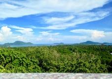 Landskap på det Phuket landskapet Arkivfoton