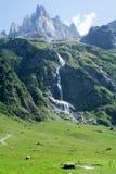 Landskap på Engelberg Arkivbild
