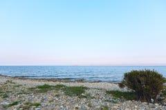 Landskap på Lake Baikal Royaltyfri Fotografi