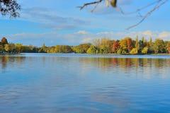 Landskap på laken Arkivbilder