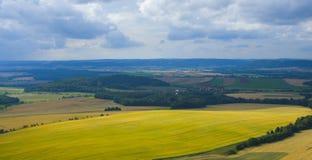 Landskap på Moravia Arkivbilder
