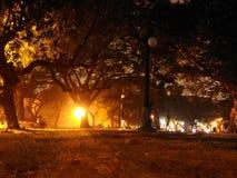 Landskap på natt 3 Royaltyfria Bilder