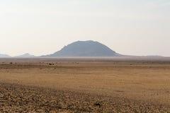 Landskap på vägen till luderitz Royaltyfria Bilder