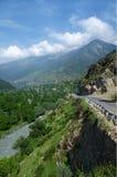 Landskap på vägen till Srinagar till Sonamarg-II Royaltyfri Foto