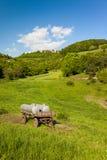 Landskap på Leuchtenburgen Arkivfoton