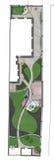 Landskap platsutvecklingsplan, skissar 2D Royaltyfria Foton