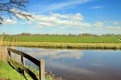 Landskap: 'Polder', Royaltyfri Fotografi