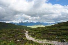 Fridsam västra högland långt arkivfoto