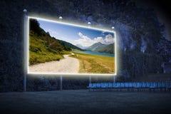 Landskap runt om Sils sjön på den övreEngadine dalen Schweiz - Europa - utomhus- biobegreppsbild arkivfoton