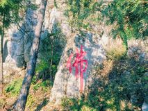 landskap s thailand för pathom för park för födelsedagbuddha nakhon Arkivbild