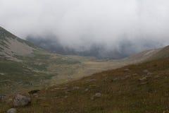 Landskap sikten av Kackar berg i Rize, Turkiet Royaltyfria Bilder