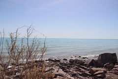 Landskap sjö Royaltyfri Fotografi