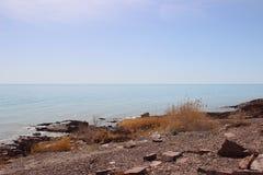 Landskap sjö Royaltyfria Foton