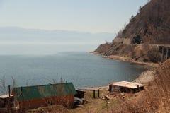 Landskap sjö Royaltyfri Bild