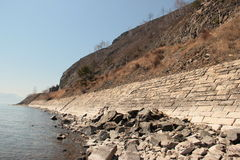 Landskap sjö Arkivfoton