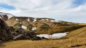 Landskap/skönhet av Island i Europa Fotografering för Bildbyråer