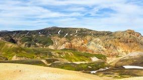 Landskap/skönhet av Island i Europa Royaltyfria Foton