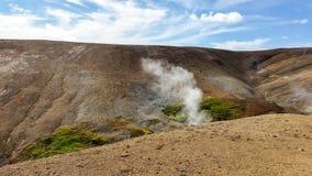 Landskap/skönhet av Island i Europa Royaltyfria Bilder