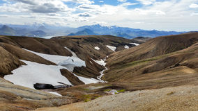 Landskap/skönhet av Island i Europa Royaltyfri Bild