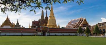 Landskap Wat Phra Kaew, Bangkok Thailand Arkivbilder