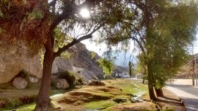 Landskap Yura Peru Royaltyfria Foton