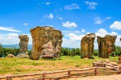 Landskapberg i Thailand Fotografering för Bildbyråer