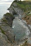 Landskape океана от скал Стоковые Изображения RF