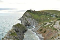 Landskape океана от скал Стоковые Изображения