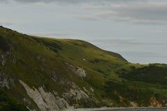 Landskape океана от скал Стоковые Фотографии RF