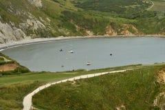 Landskape океана от скал Стоковые Фото